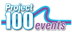 Project 100 Events Logo
